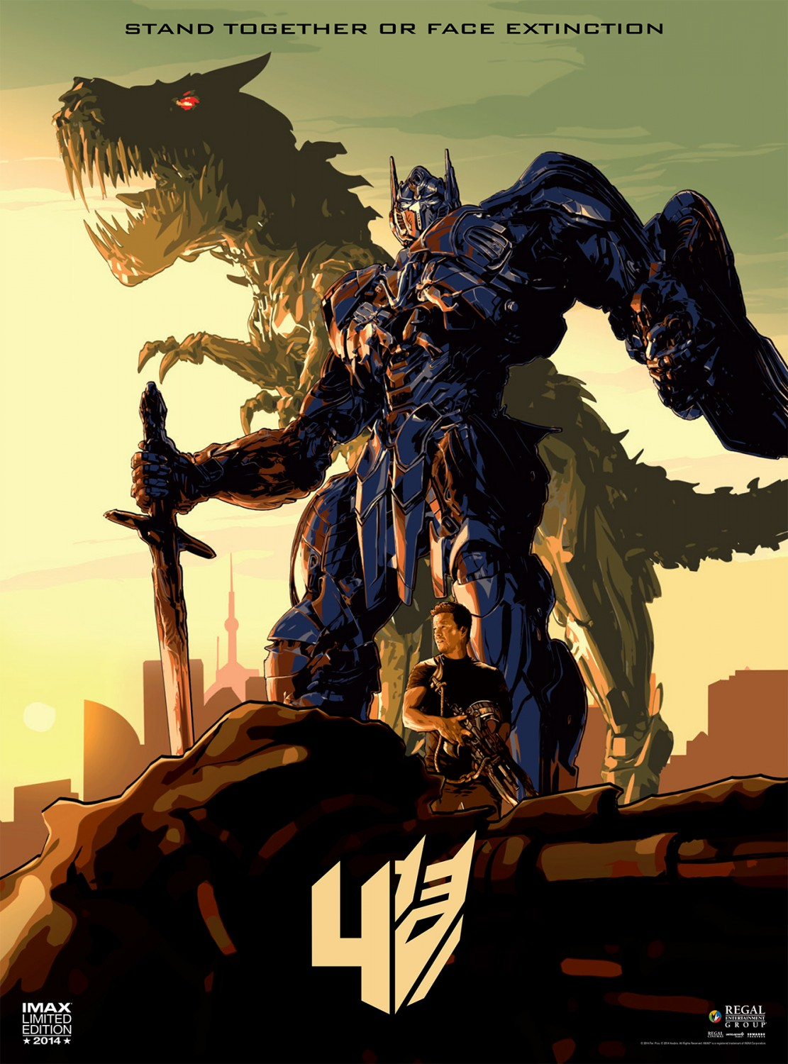 the gallery for gt transformers 4 age of extinction poster