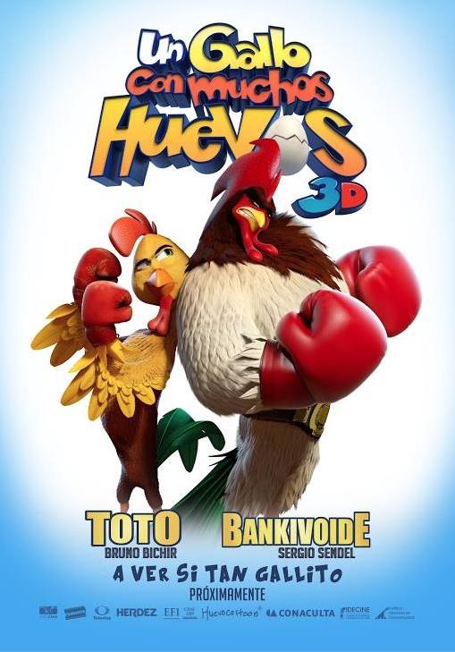 Un gallo con muchos huevos (2015) [TS-HQ] [Latino] [MEGA]